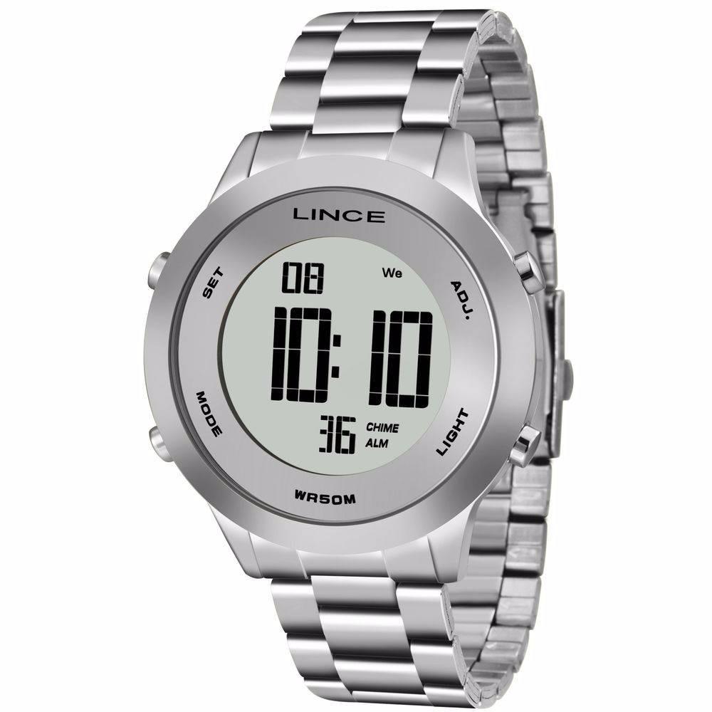b3738c4cf7b relógio lince digital prata feminino sdph039l - promoção. Carregando zoom.