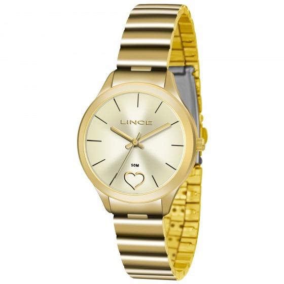 Relógio Lince Lrg4430l C1kx Urban Feminino Dourado- Refinado - R ... 20148b9901