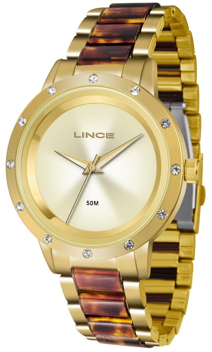 14ca1aba511 Relógio Lince Feminino Original Lrt4476l C1nk + Nota Fiscal