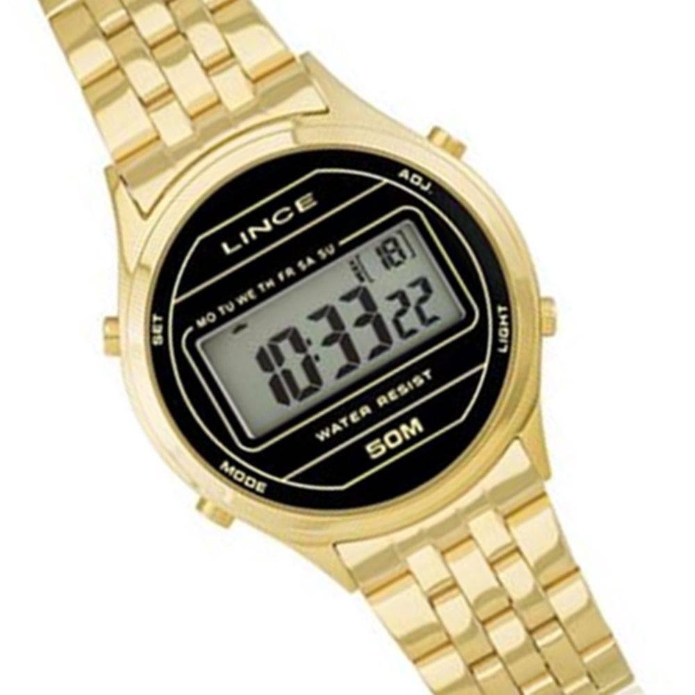 9be50fb4e47 Relógio Lince Feminino Digital 5 Atm Sdph021l Bxkx - R  199
