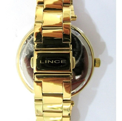 relógio lince feminino folhado multifunção lmgj068l m2kx