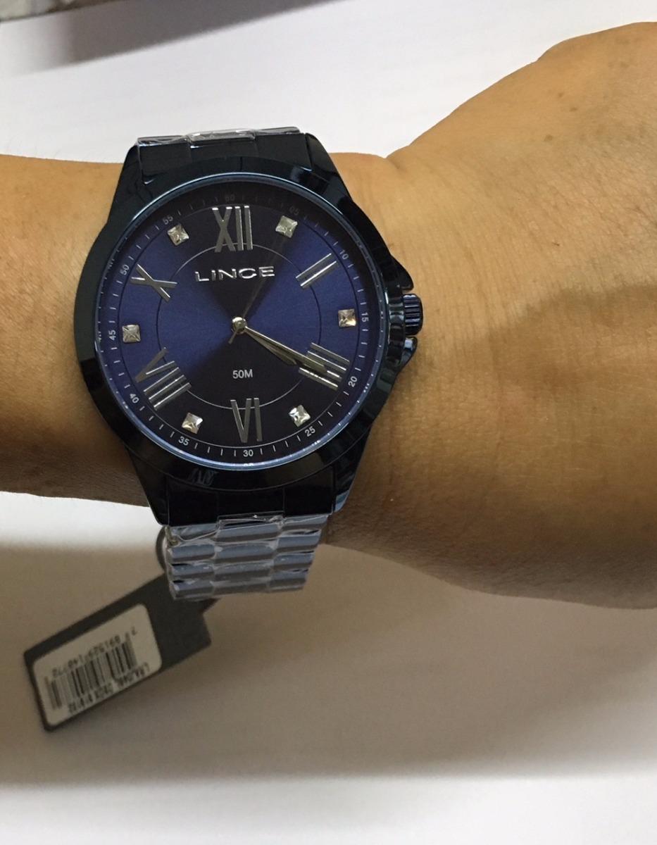 3ee5c8a54a3 relogio lince feminino lraj046l d3dx azul lançamento. Carregando zoom.