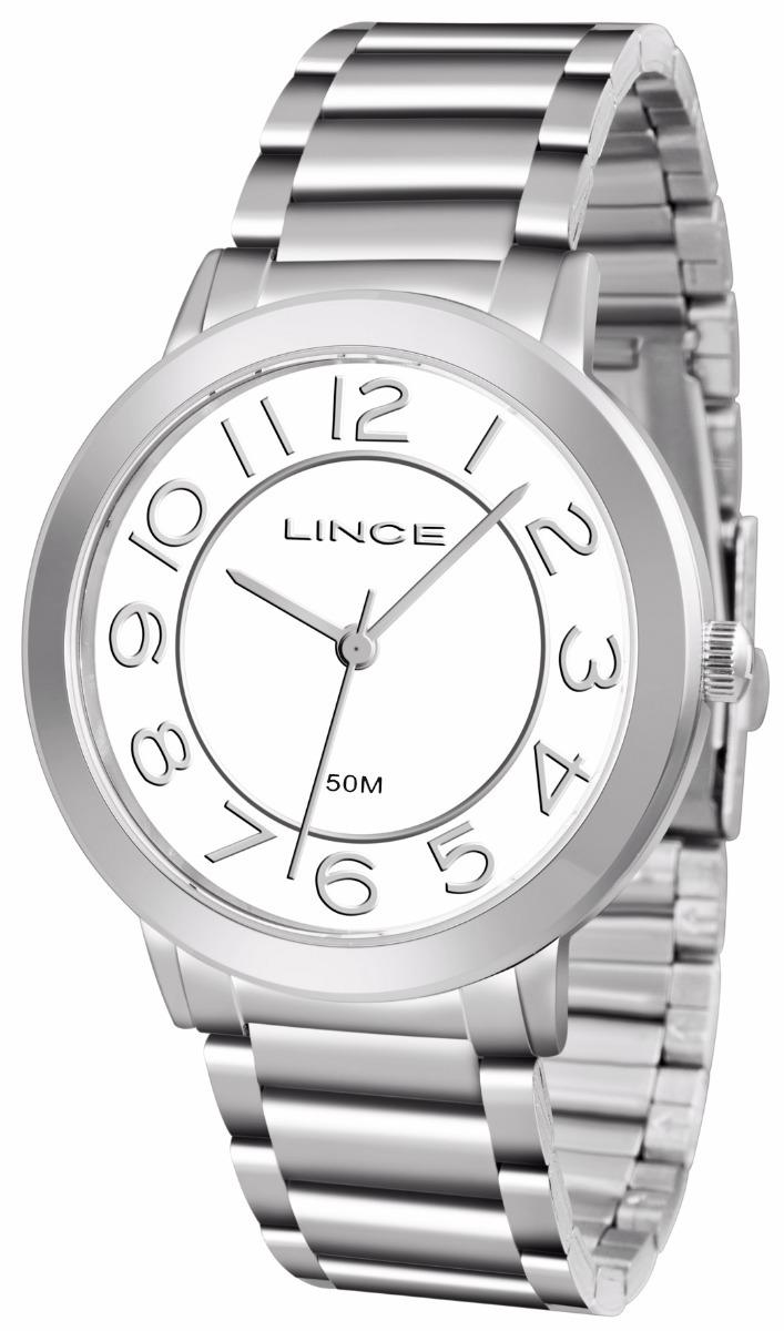 relogio lince feminino lrmh046l b2sx prata aço analogico. Carregando zoom. ba37c4b86f
