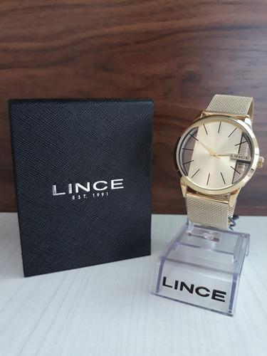 relógio lince lrg624l + garantia de 1 ano + nf