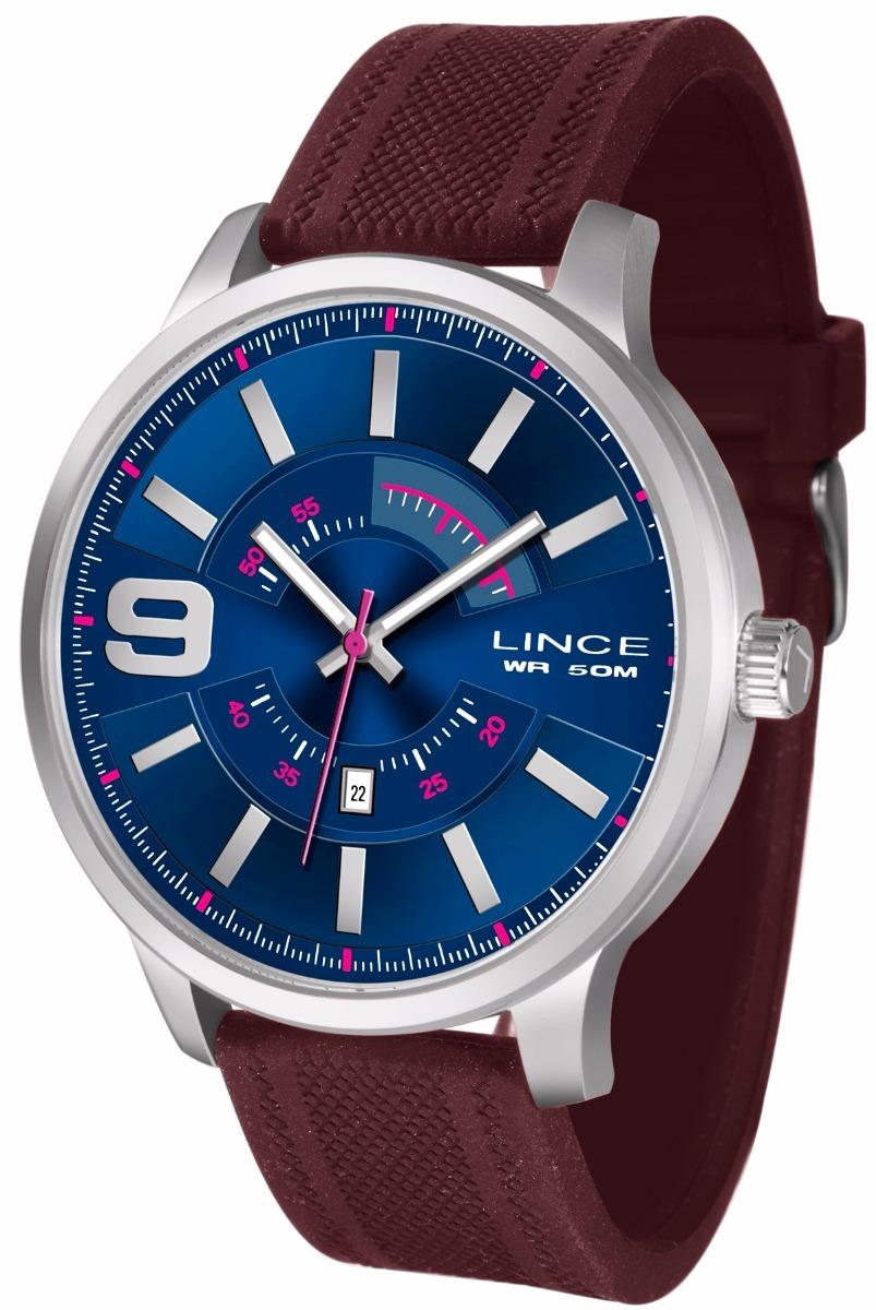4b54b7b579d relógio lince masculino 50 metros mrph056s d2mx. Carregando zoom.