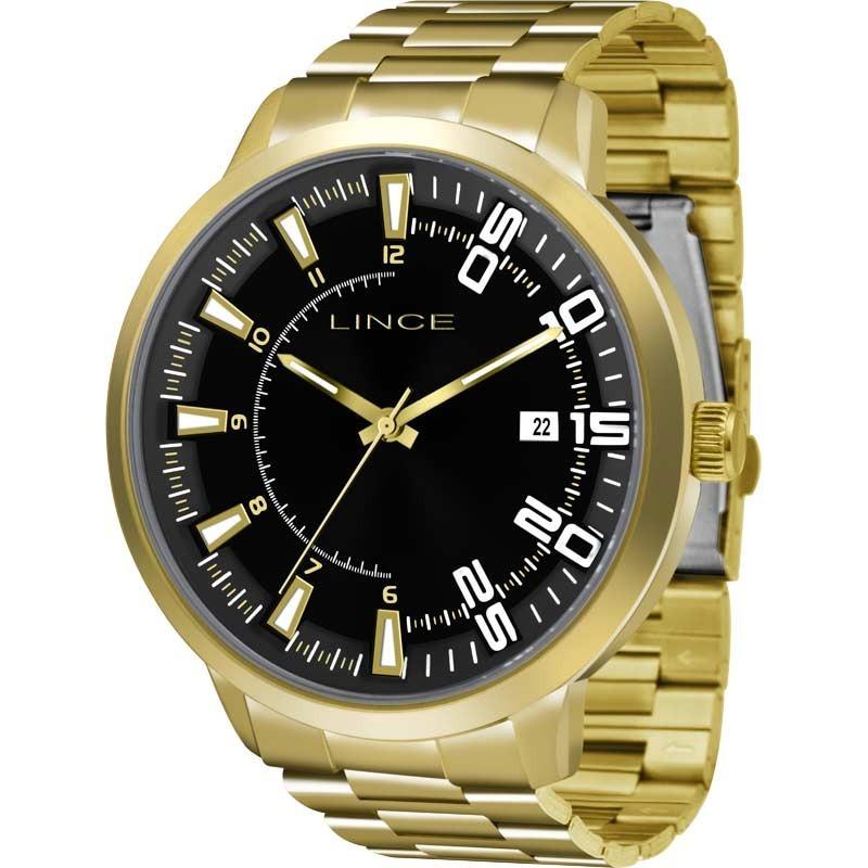35d75323c92 Características. Marca Lince  Modelo mrg4353sp2kx  Gênero Masculino   Material da correia do relógio ...