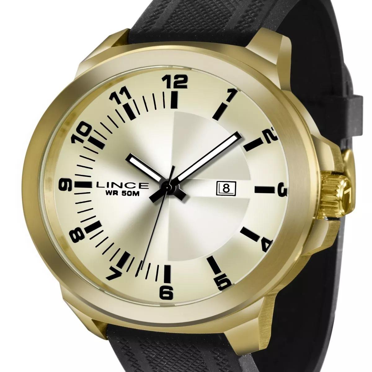 2d96c8d804a relógio lince masculino mrph030s c2px dourado original. Carregando zoom.