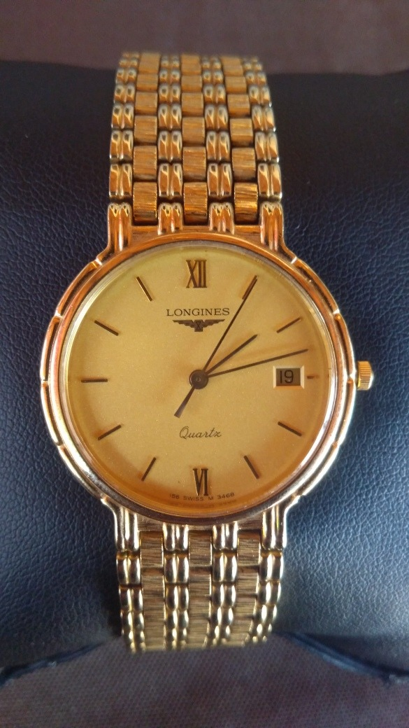 f25b29e0a23 Relógio Longines 156 Swiss M 3468 - R  2.000