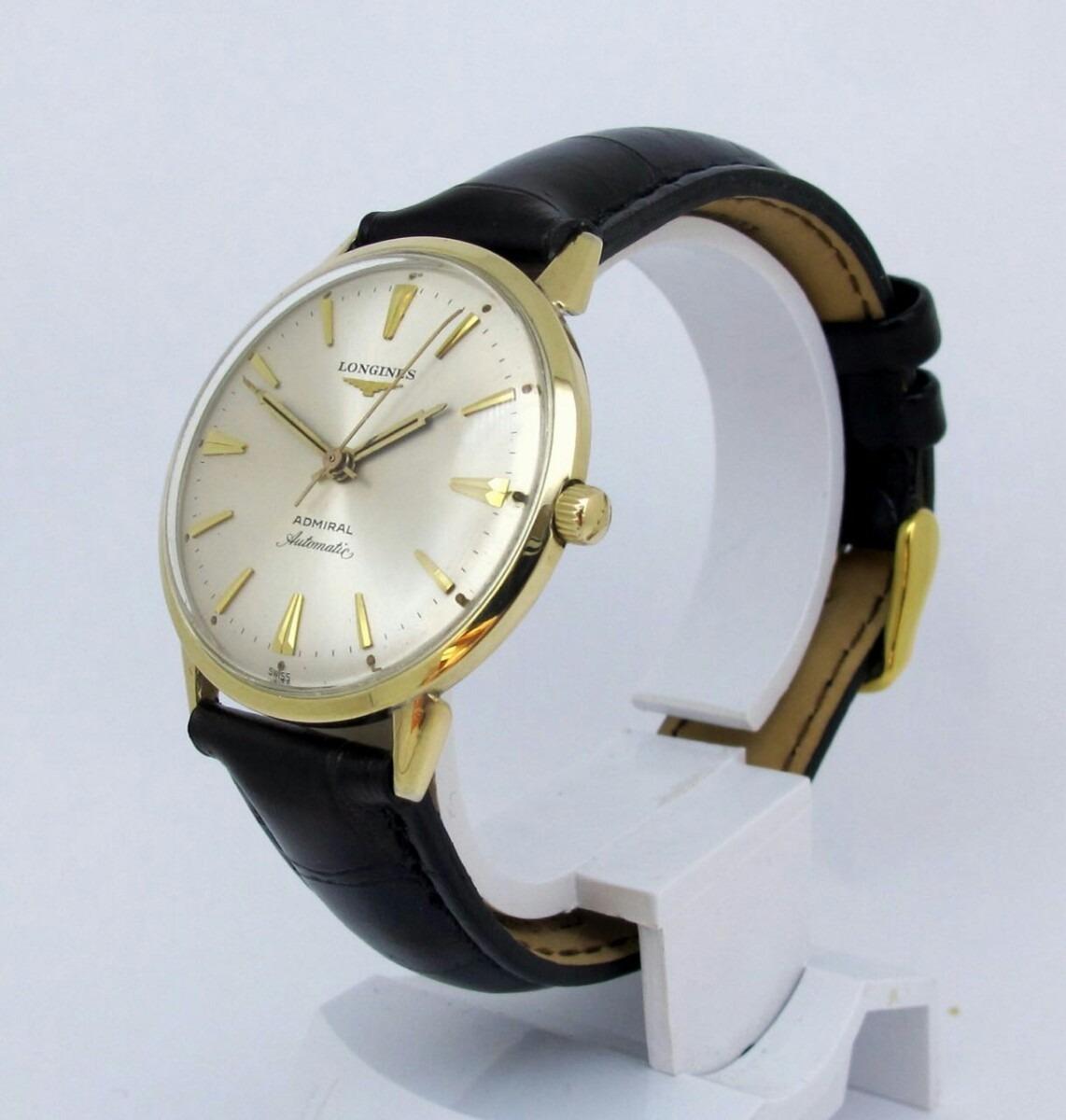 b80c860cdad Relógio Longines Admiral Década De 60 70 - R  2.890