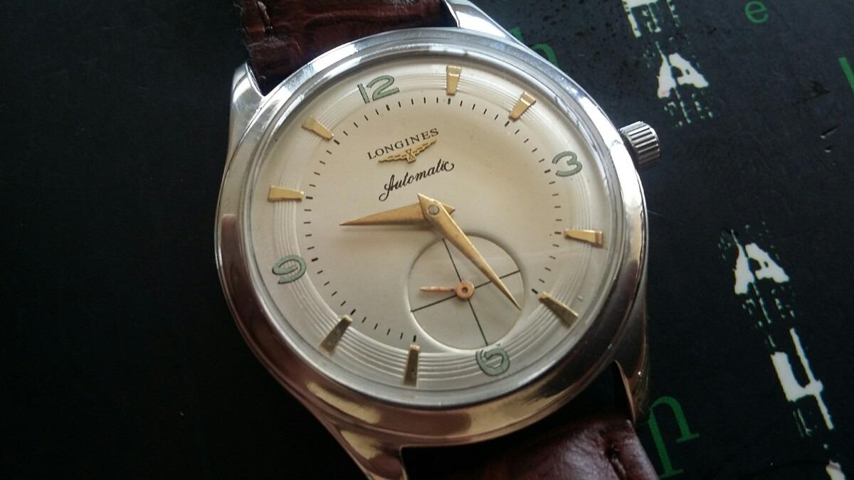 98502c33b45 relógio longines automatic  promoção. Carregando zoom.