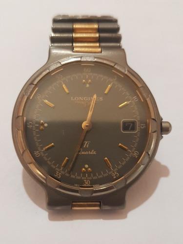 relógio longines conquest titanium quartz