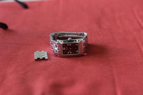 relógio longines feminino dolce vita - preto