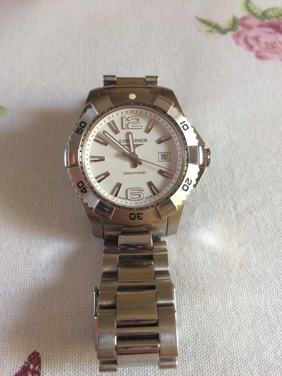 160dc04187c Relógio Longines Hydroconquest Quartz 39mm