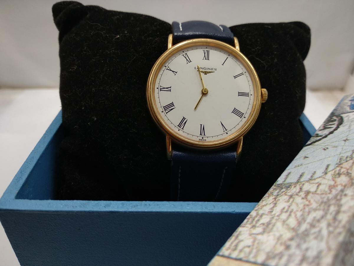 96fd7cbb94d Relógio Longines Swiss A Quartzo Usado Anos 80 - R  790
