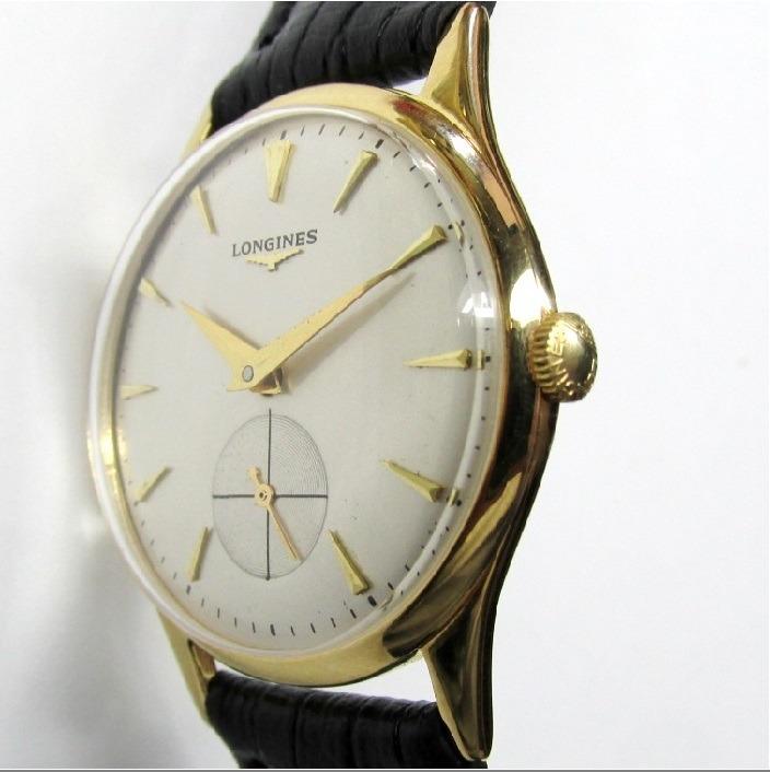 1d52df908aa Relógio Longines Swiss Corda Manual Folhado A Ouro - R  1.380