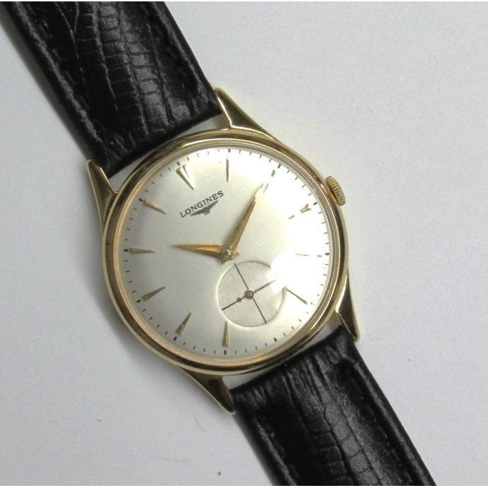 ee3745530d8 Relógio Longines Swiss Corda Manual Folhado A Ouro - R  1.480