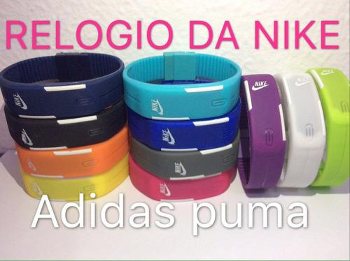 relógio lês digital sport adidas puma  nike pulseira .