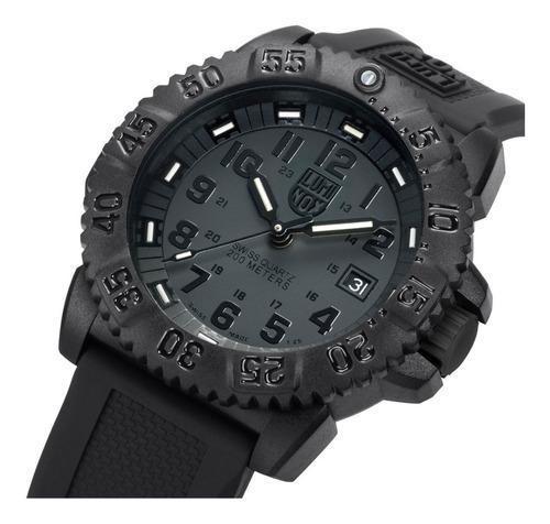 relogio luminox 3051 blackout evo navy seal swiss dive