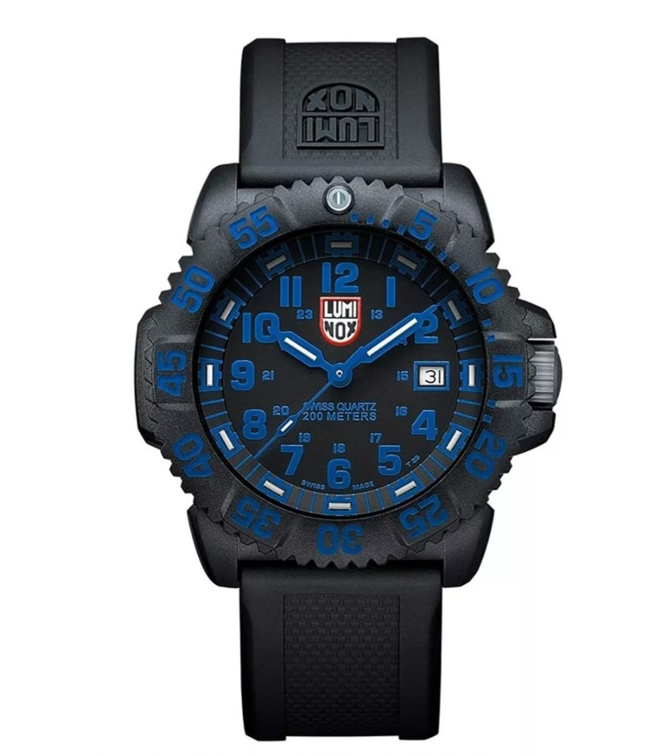4ede0cf7093 Relógio Luminox A.3053 Navy Seal Colormark 3050 Series 200m - R  1.679