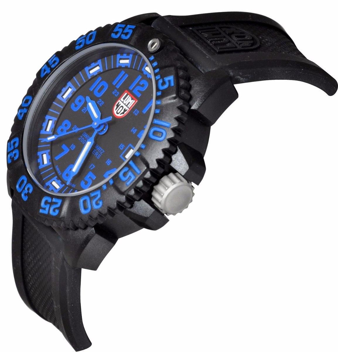 c1d54685b4d relógio luminox navy seal a.3053. Carregando zoom.