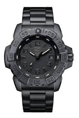 relógio luminox xs.3252.bo navy seal steel 3250 series 45mm