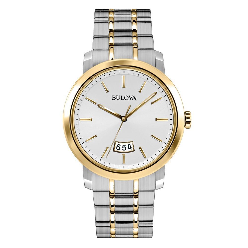 882cd3267ee Relógio Luxo Bulova 98b214 Dress Orig Anal Gold Silver!!! - R  2.999 ...