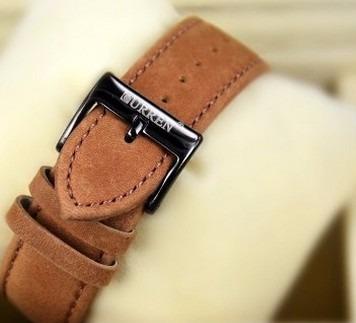 relógio luxo curren pulseira de couro 8139 8182 frete grátis