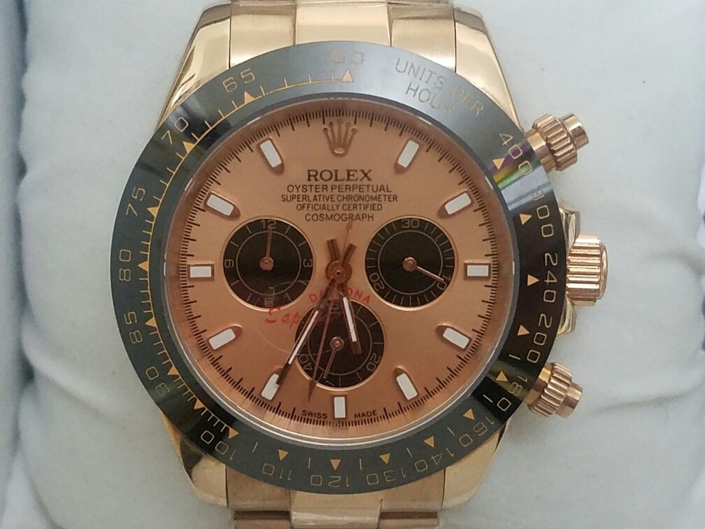 e8f223fc105 relógio luxo daytona rose automático cerâmica frete gratis. Carregando zoom.