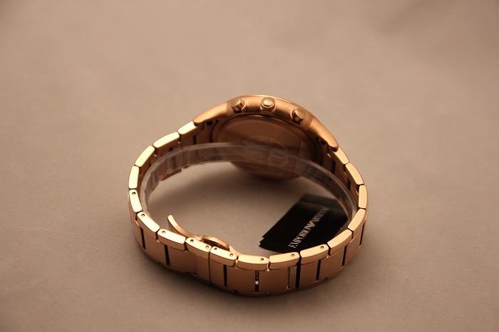 3eb3b7ae5a8 Relógio Luxo Empório Armani Ar2452 Orig Chron Anal - R  3.499