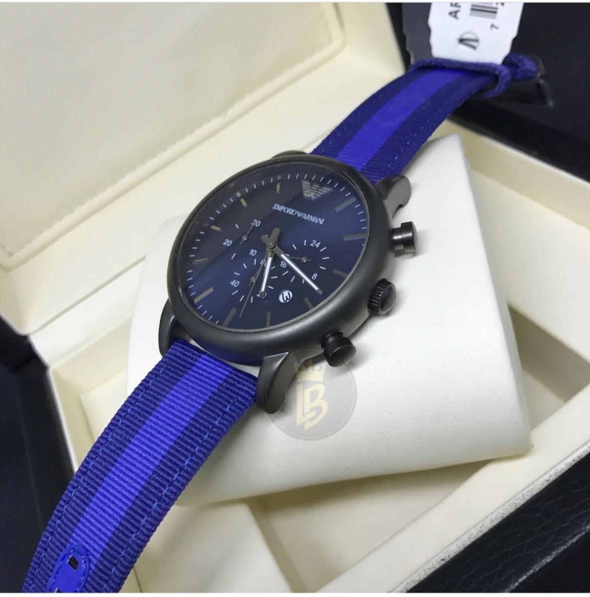 ef4047614671c relógio luxo empório armani luigi ar1949 novo com garantia. Carregando zoom.