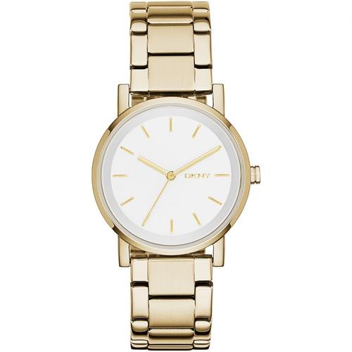 relógio luxo feminino dkny donna karan original ny2343/4bn