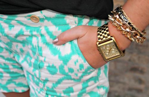 relogio luxo michael kors mk3141 orig chron anal gold