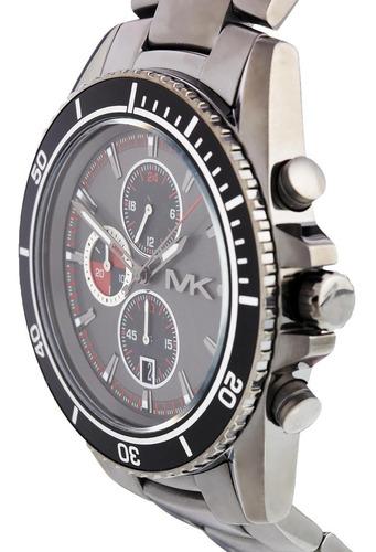 relógio luxo michael kors mk8340 orig chron anal grey!!!