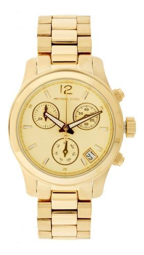 relógio luxo mk5384 orig chron anal ouro!!!