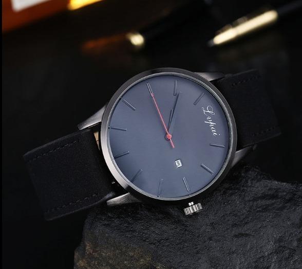 62dcfc4d297 Relógio Lvpai P066 Original Correia Couro Camurçado Legitimo - R  38 ...