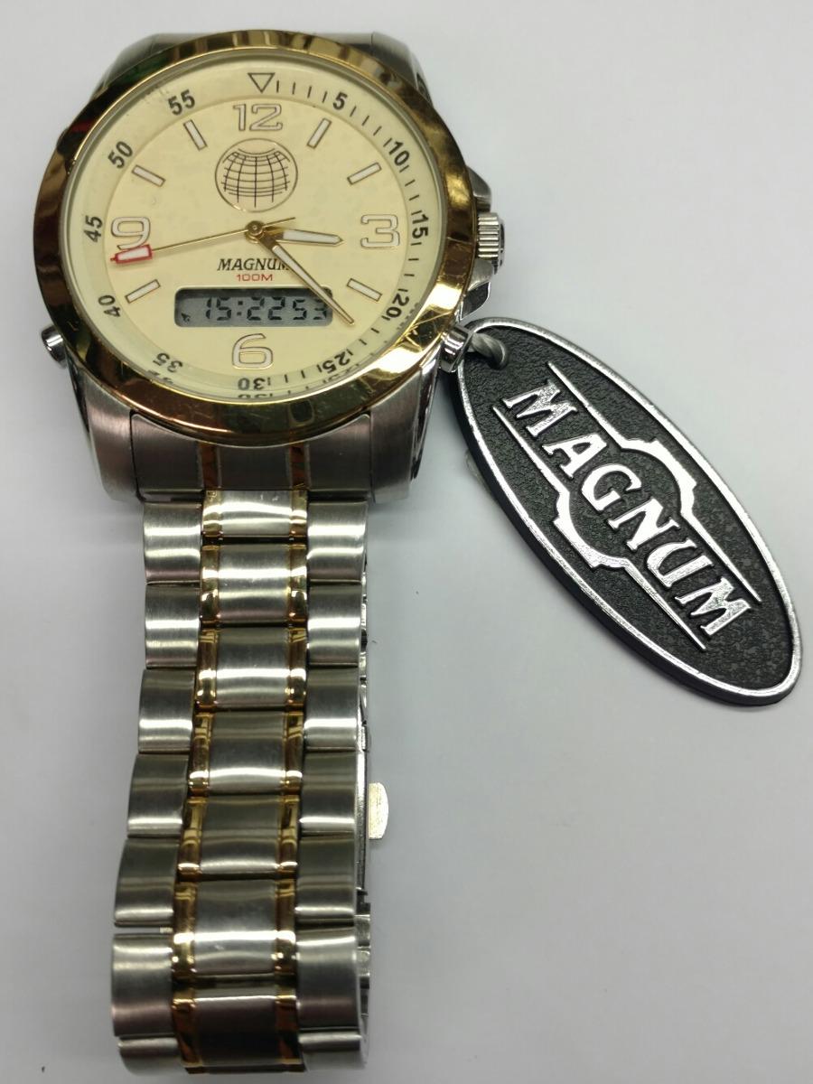 397a440d3d1 relógio magnum anadigi. Carregando zoom.