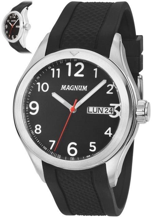 2ffe7e72e60 Relógio Magnum Analógico Masculino Ma34987 - R  296