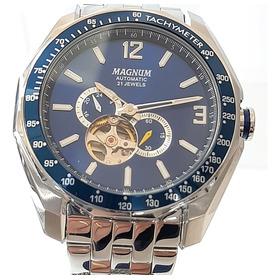 Relógio Magnum Automático Aço Ma33951f