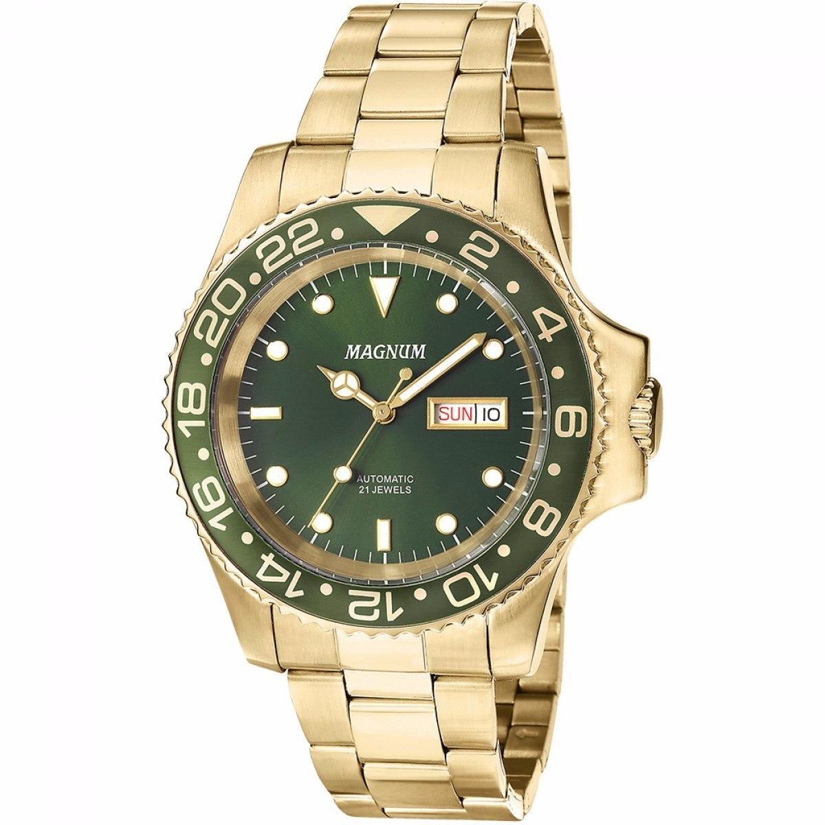 473b03a61c9 Relógio Magnum Automático Masculino Ma33844g Garantia E Nf - R  649 ...