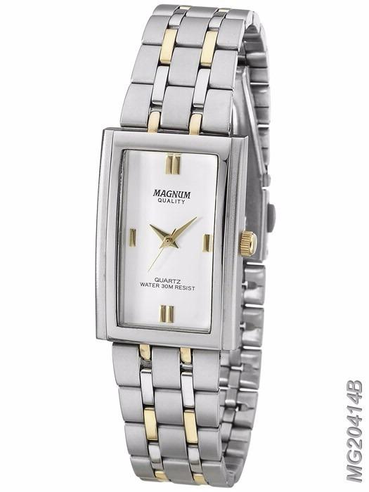 6d0204da914 Relógio Magnum Feminino Aço Misto - R  229