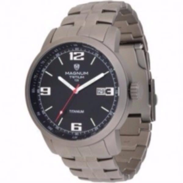 fc8dbd5c5f2 Relógio Magnum Masculino Analógico Titanium - Mt30106t - R  375