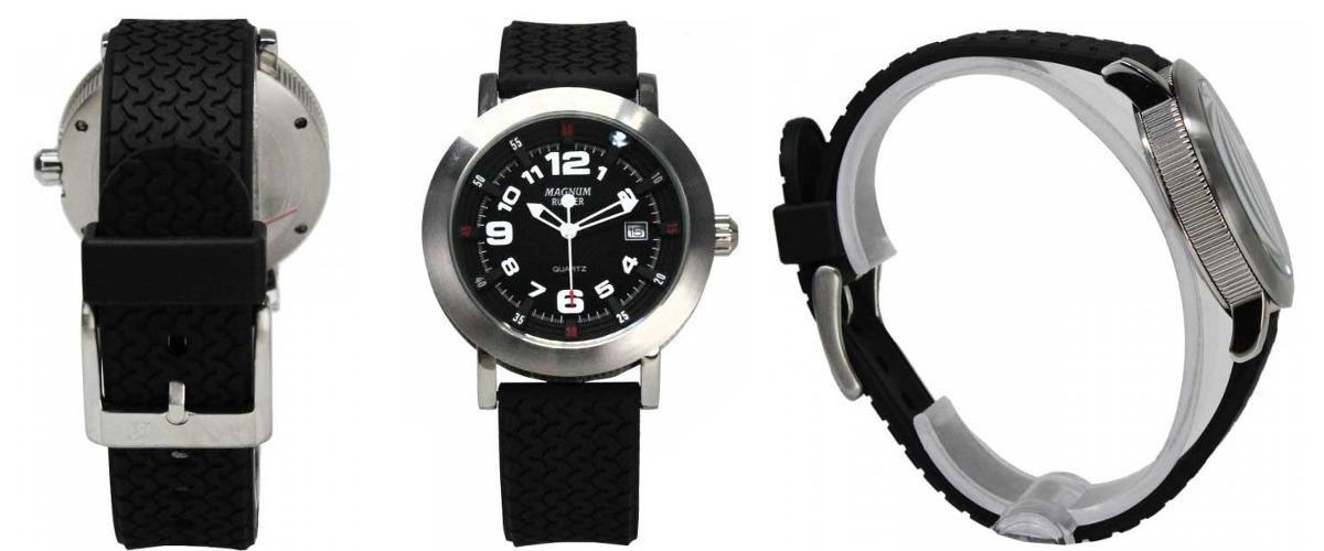 cd55ee9dafd Relógio Magnum Masculino Rubber Mr30555t - R  165