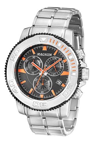 relógio magnum masculino chronograph ma33246j