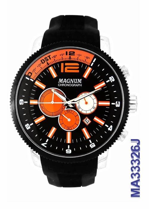 1ee2789ee5d Relógio Magnum Masculino Cronógrafo Ma33326j - R  449
