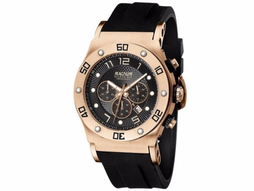 4f8469f02c0 relógio magnum masculino ma30936p rosê lançamento. Carregando zoom.