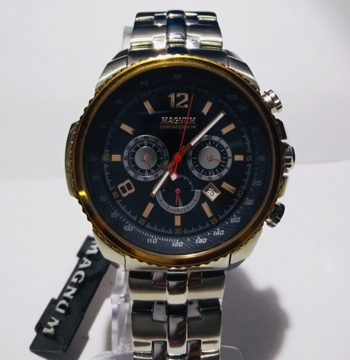 19f8748a4cc Relógio Magnum Masculino Ma33460p - R  772