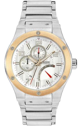 relógio magnum masculino multifunction ma32318s