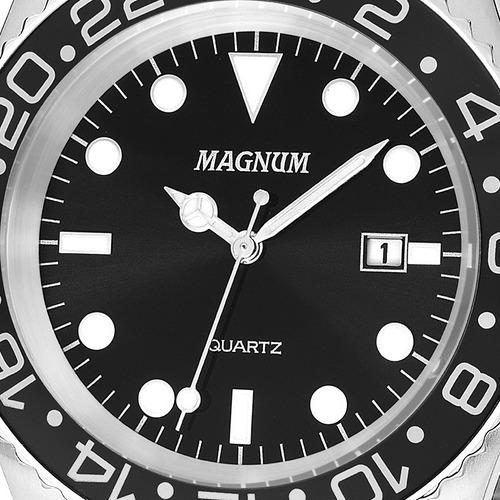 relógio magnum masculino original garantia nfe