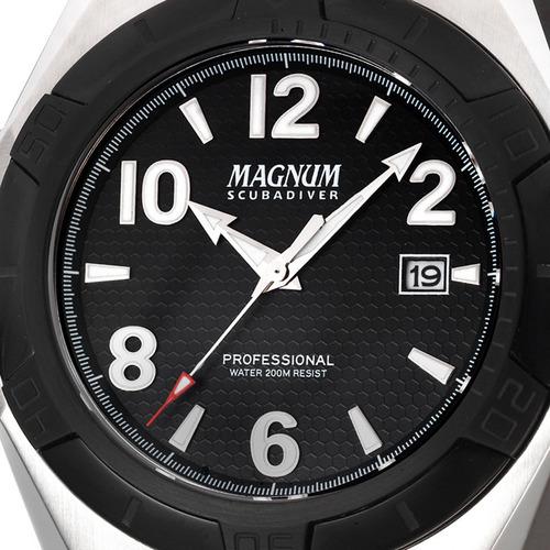 relógio magnum masculino original garantia nota ma30927t