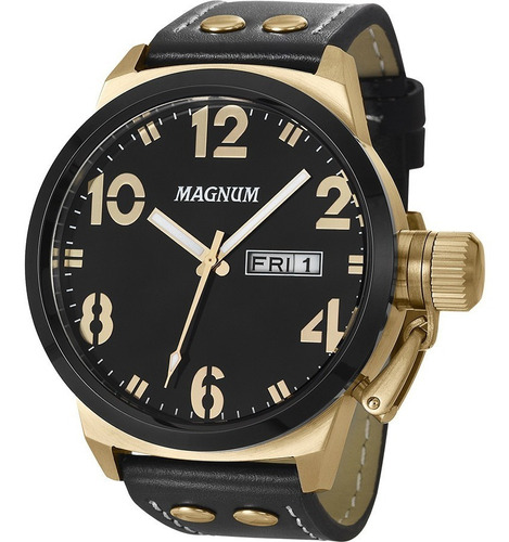 relógio magnum masculino original garantia nota ma32783u